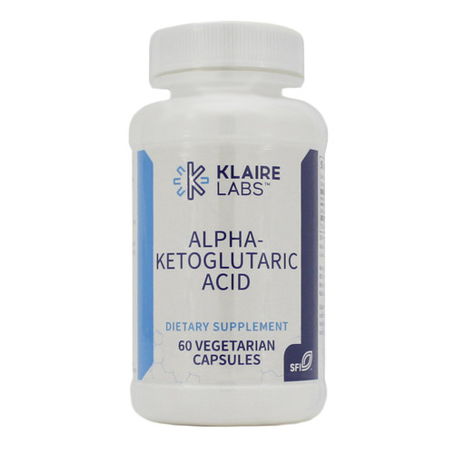Klaire Labs Alpha-Ketoglutaric Acid 300 mg 60 vcaps