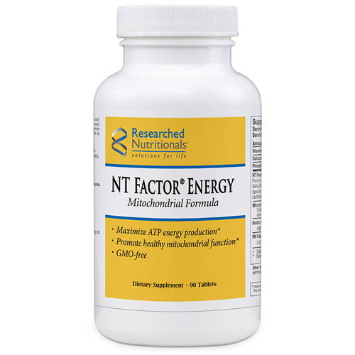 Researched Nutritionals NT Factor Energy Mitochondrial Formula 90 tabs