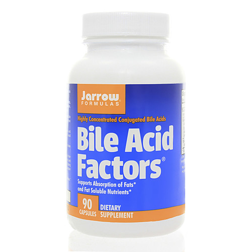 Jarrow Formulas Bile Acid Factors 90 caps