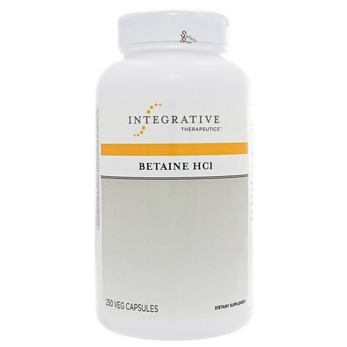 Integrative Therapeutics Betaine HCL w/ pepsin 250 caps