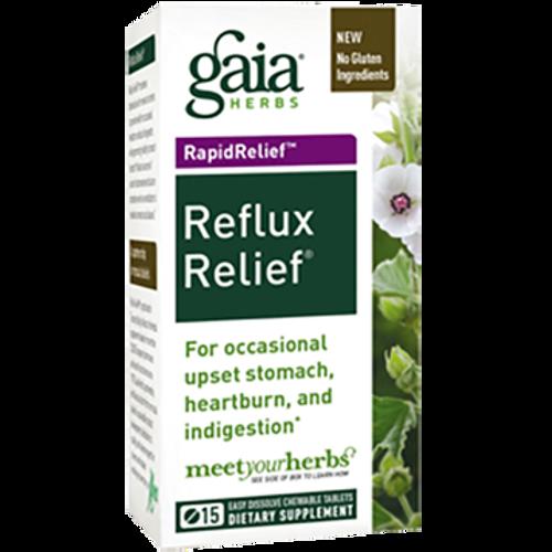 Gaia Herbs Reflux Relief 15 tabs