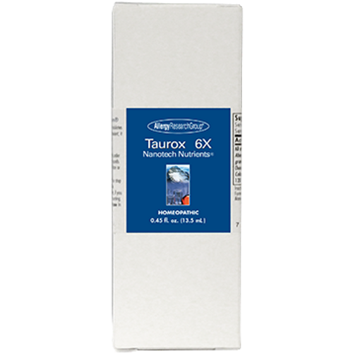 Allergy Research Group Taurox SB 6X Enhanced 13.5 ml