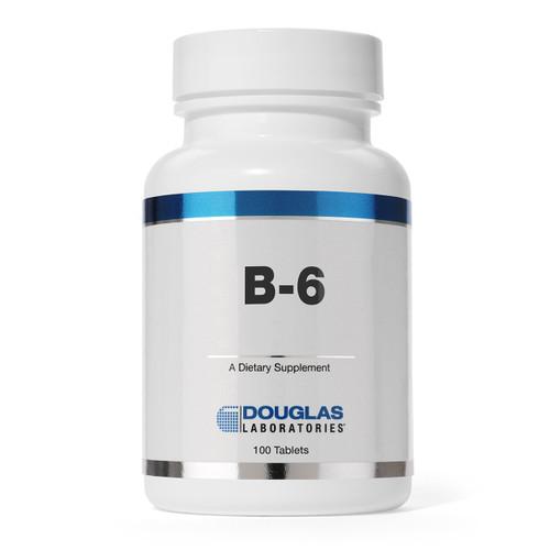 Douglas Labs Vitamin B6 100 mg 100 tabs