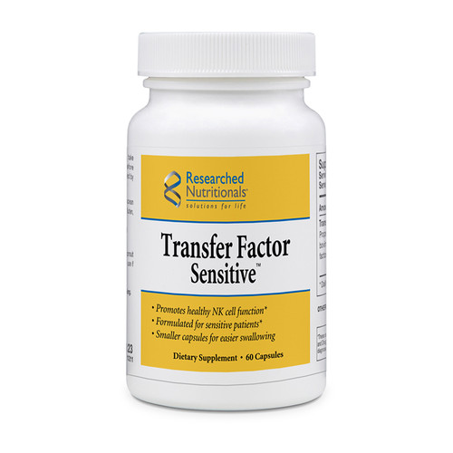 Researched Nutritionals Transfer Factor Sensitive 60 caps