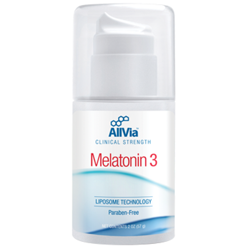 AllVia Melatonin 3 Cream 2 oz