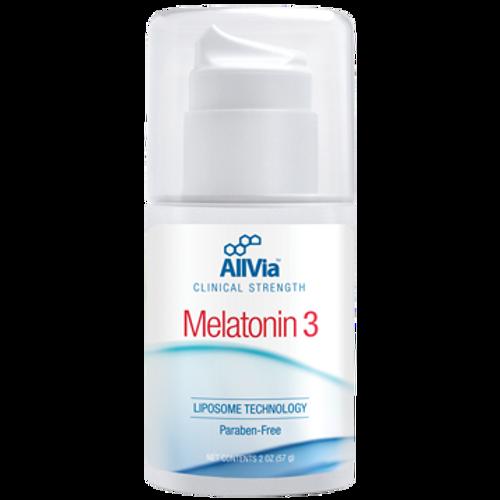 AllVia Melatonin 3 Cream 2 oz