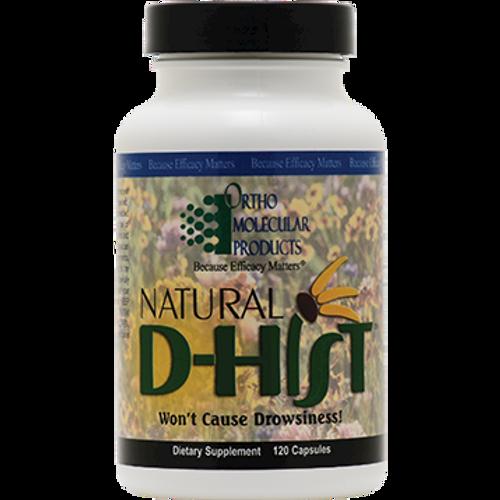 Ortho Molecular Natural D-Hist 120 caps