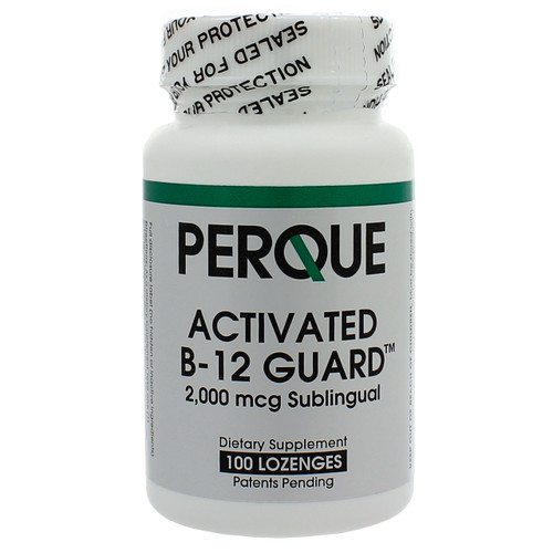 Perque Activated B-12 Guard 2,000 mcg 100 Lozgenes