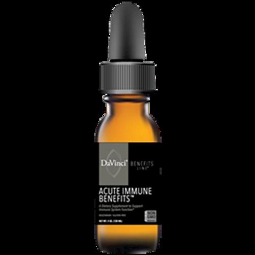DaVinci Labs Acute Immune Benefits Liquid (formerly Maitake-DMG Liquid) 4 oz