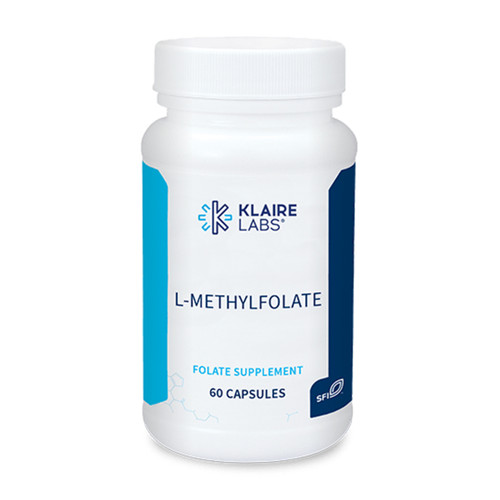 Klaire Labs L-Methylfolate 1,700 mcg 60 caps
