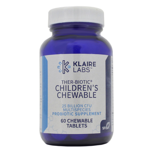Klaire Labs Ther-Biotic Children's Chewable 60 tabs