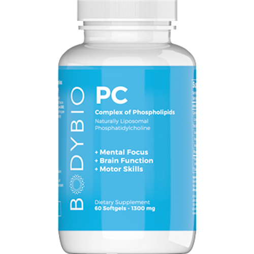 Bodybio PC (Phosphatidyl-Choline) 60 softgels