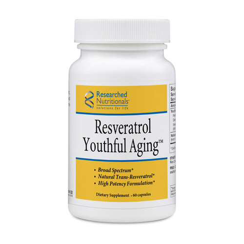 Researched Nutritionals Resveratrol Youthful Aging 60 caps
