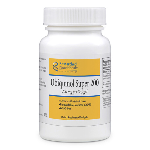 Researched Nutritionals Ubiquinol Super 200
