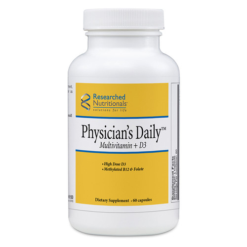 Researched Nutritionals Physician's Daily Multivitamin + D3 60 capsules
