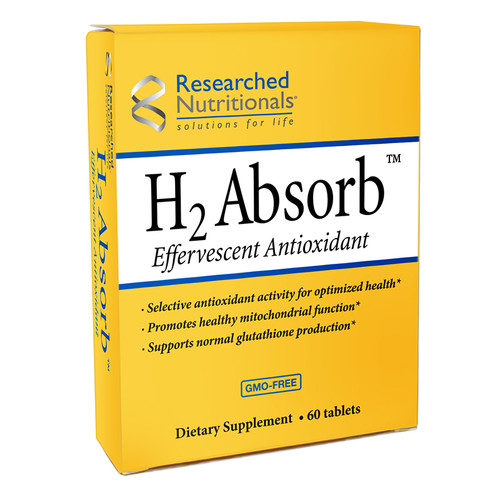 Researched Nutritionals   H2 Absorb Effervescent Antioxidant 60 tablets