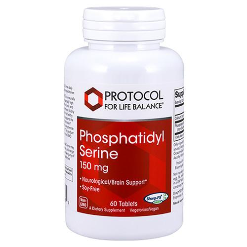 Protocol for Life Balance Phosphatidyl Serine 150mg 60 tabs