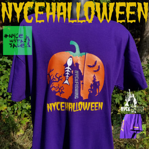 NYCeHALLOWEEN TEE Purple