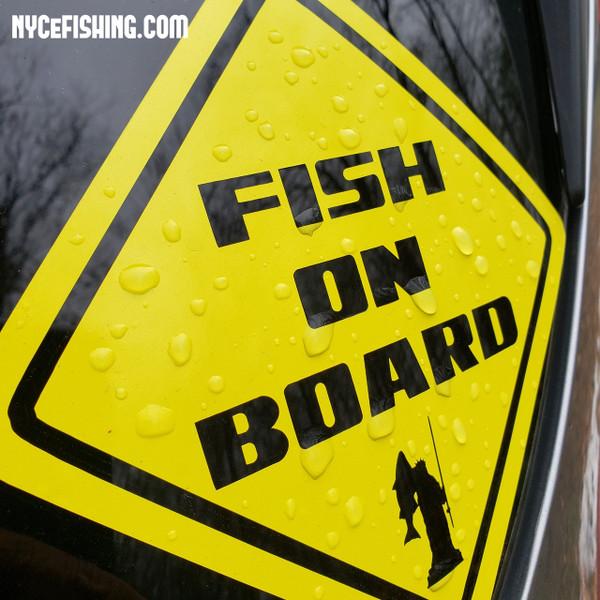 Fish On Board Decal