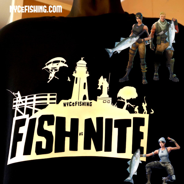 FISH @ NITE Tee (Black)