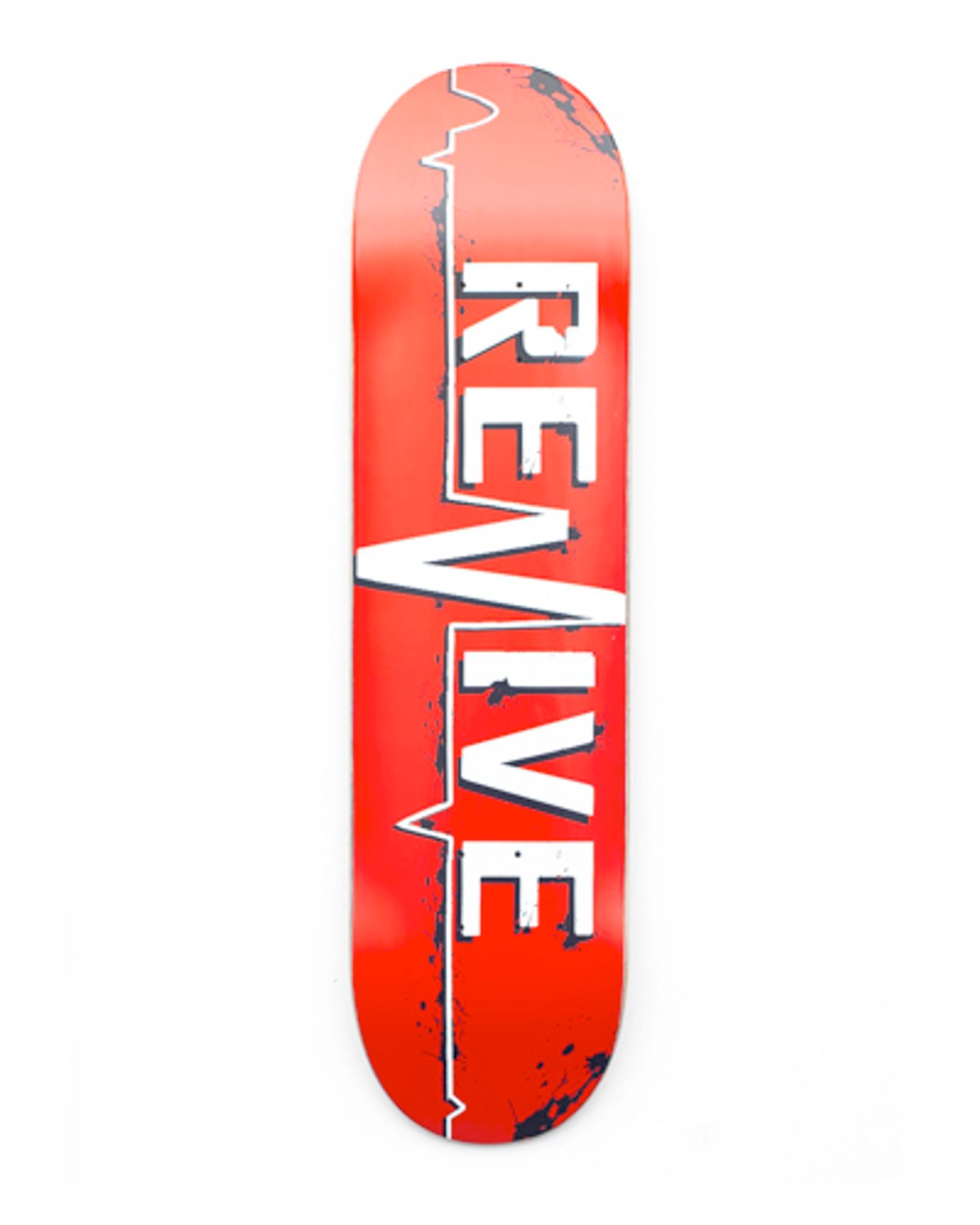 170c5b5a55 Red Lifeline - Deck - Revive Skateboards