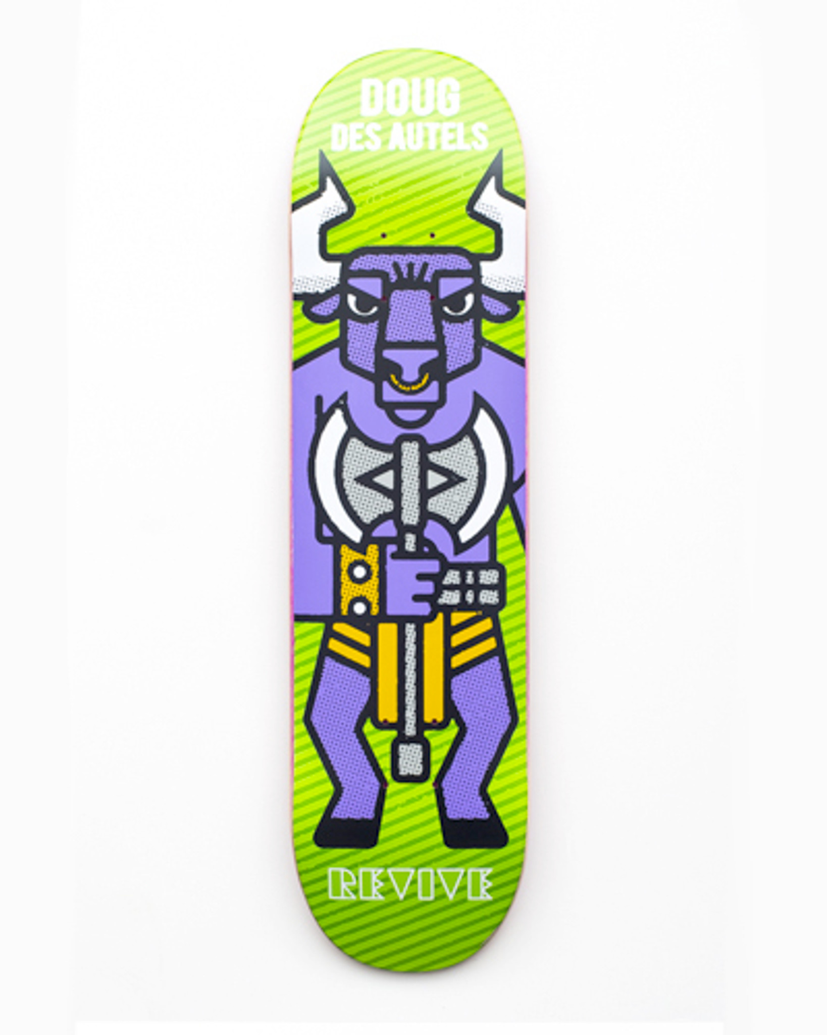 9dac4c65 Doug Des Autels Minotaur | Revive Skateboard Deck