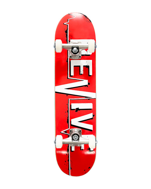 Red Lifeline - 7.25 Youth Complete Skateboard