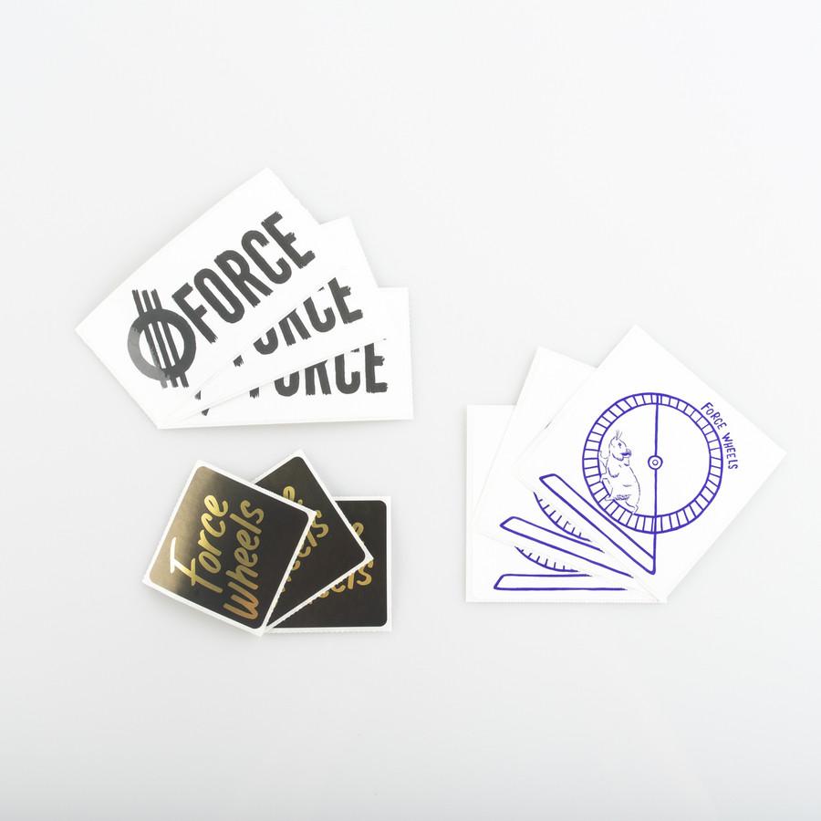 Tripack- Stickers