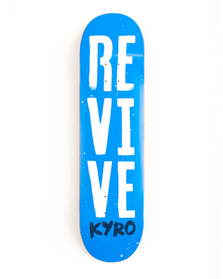 Aaron Kyro Stencil - Deck ( 8.25 only)