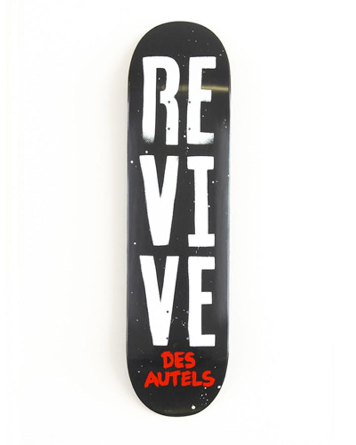Doug Des Autels Stencil - Deck