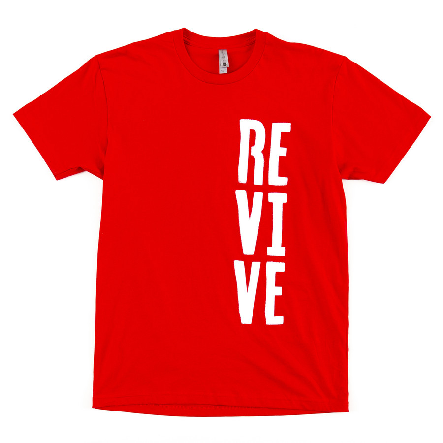 Stencil - Red Tee