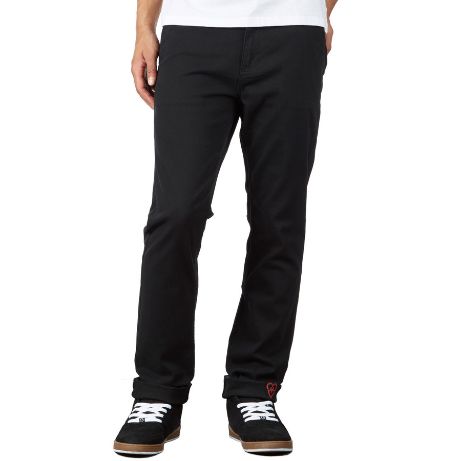 Revive Slim Fit Chino Pants - Black/Sketch