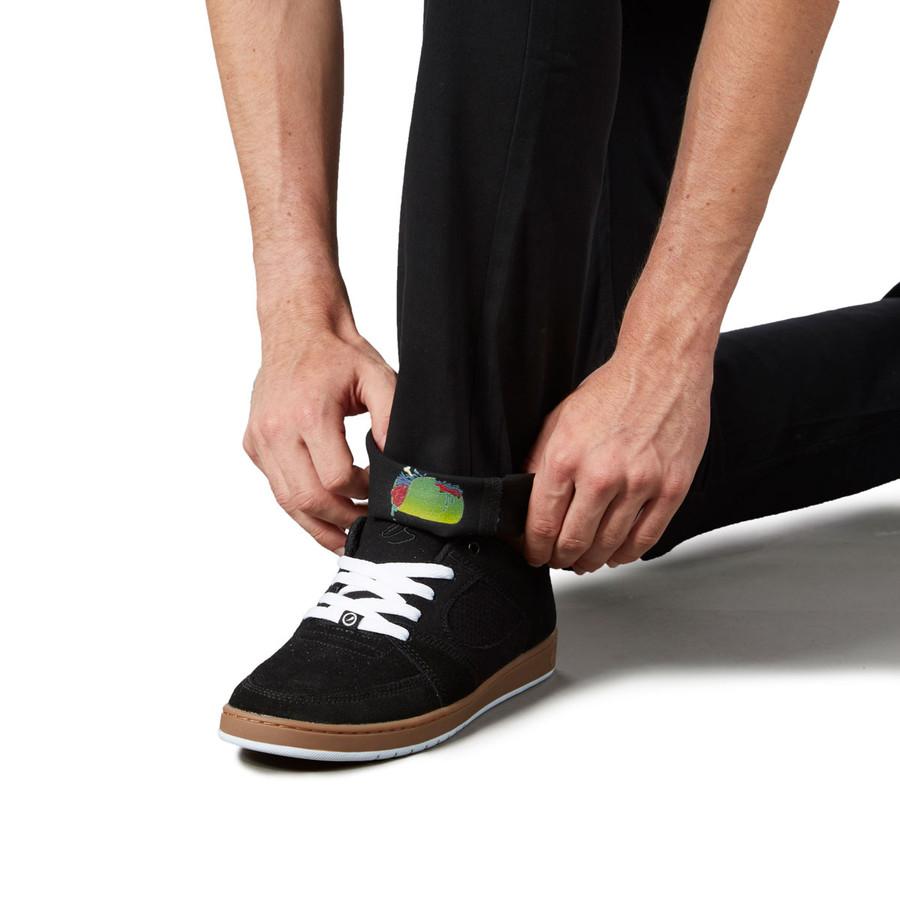 Revive Slim Fit Chino Pants - Black/Zombie Taco