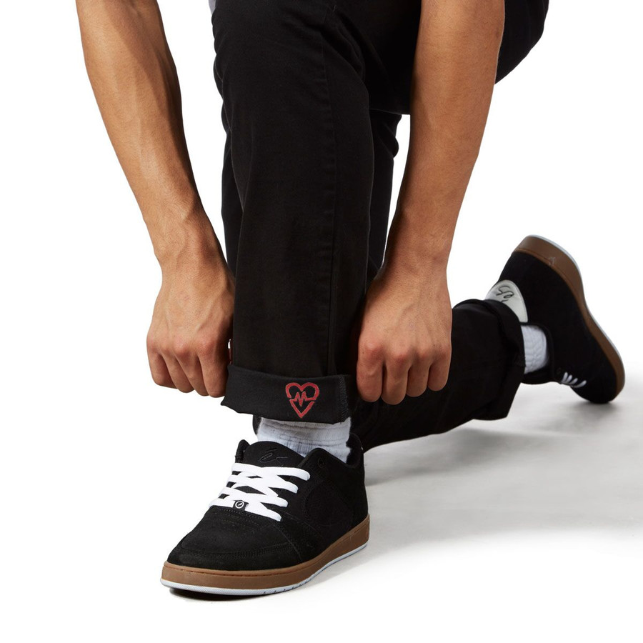 Revive Straight Fit Chino Pants - Black/Sketch