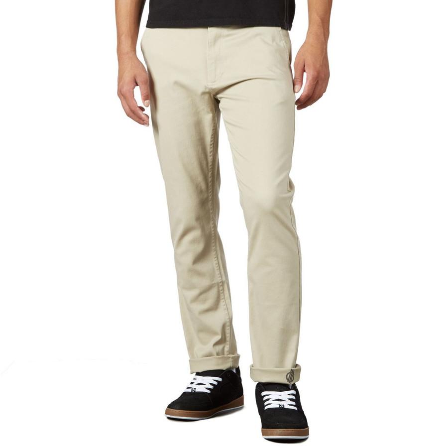FORCE Straight Fit Chino Pants - Light Khaki/Force