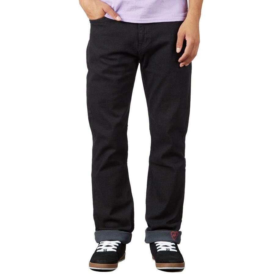Revive Straight Fit Jeans - Black/Sketch
