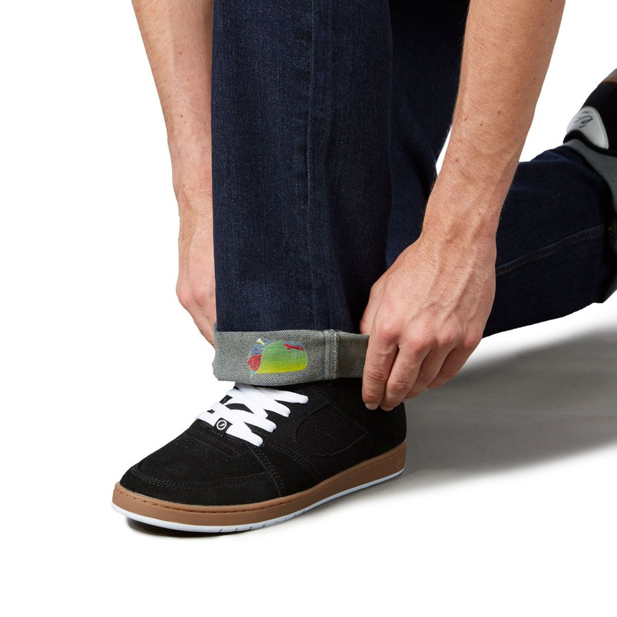 Revive Straight Fit Jeans - Light Indigo/Zombie Taco