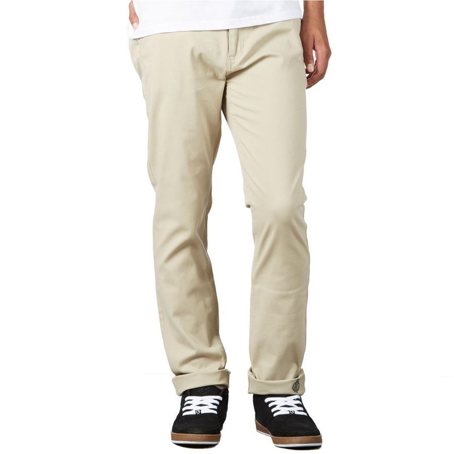FORCE Slim Fit Chino Pants - Light Khaki/Force