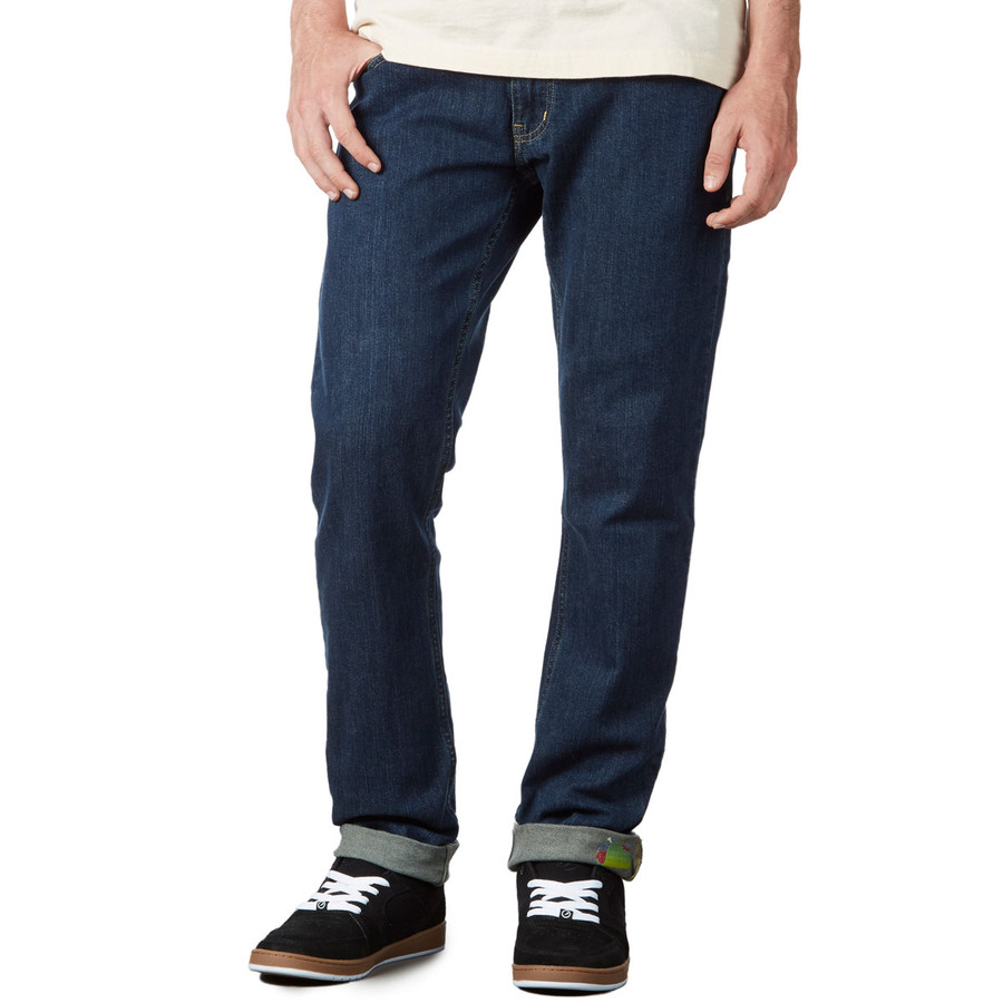 Revive Slim Fit Jeans - Light Indigo/Zombie Taco