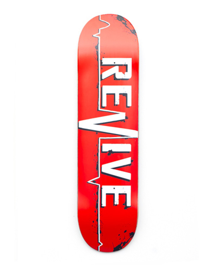 Red Lifeline - 7.25 Youth Deck