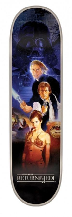 8.375in x 32in Star Wars Return Of The Jedi Poster Team