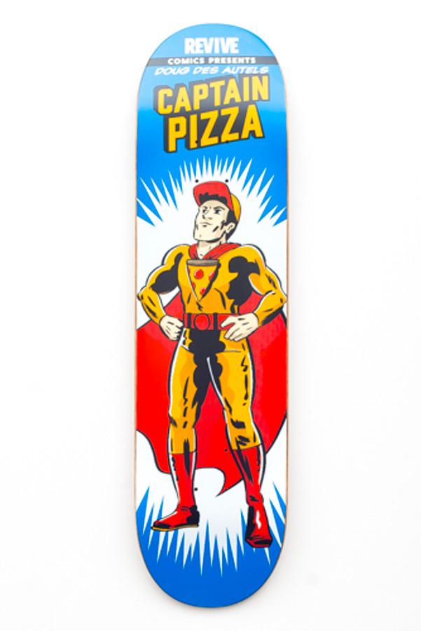 Doug Des Autels   Captain Pizza - Deck