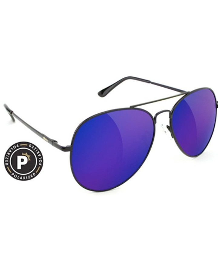 Daewon Polarized - Black/Purple Mirror