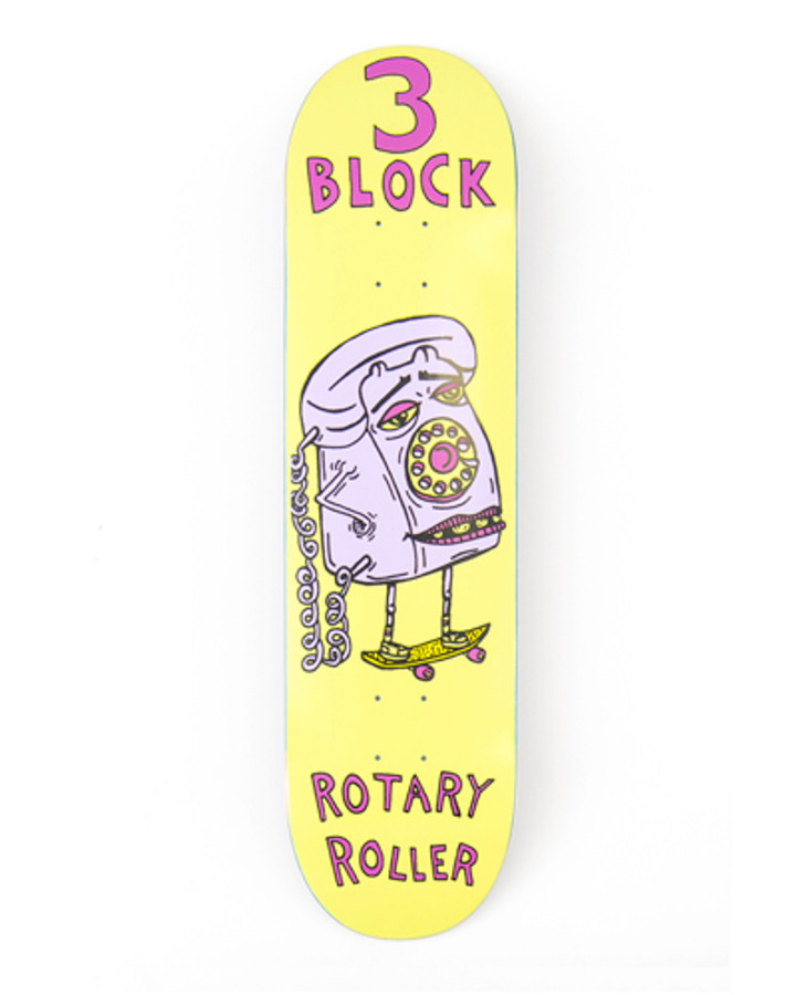 Rotary Roller - Deck
