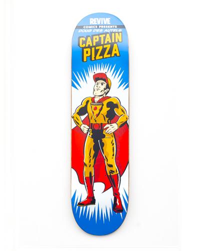 13594444 Doug Des Autels | Captain Pizza | Revive Skateboard Deck