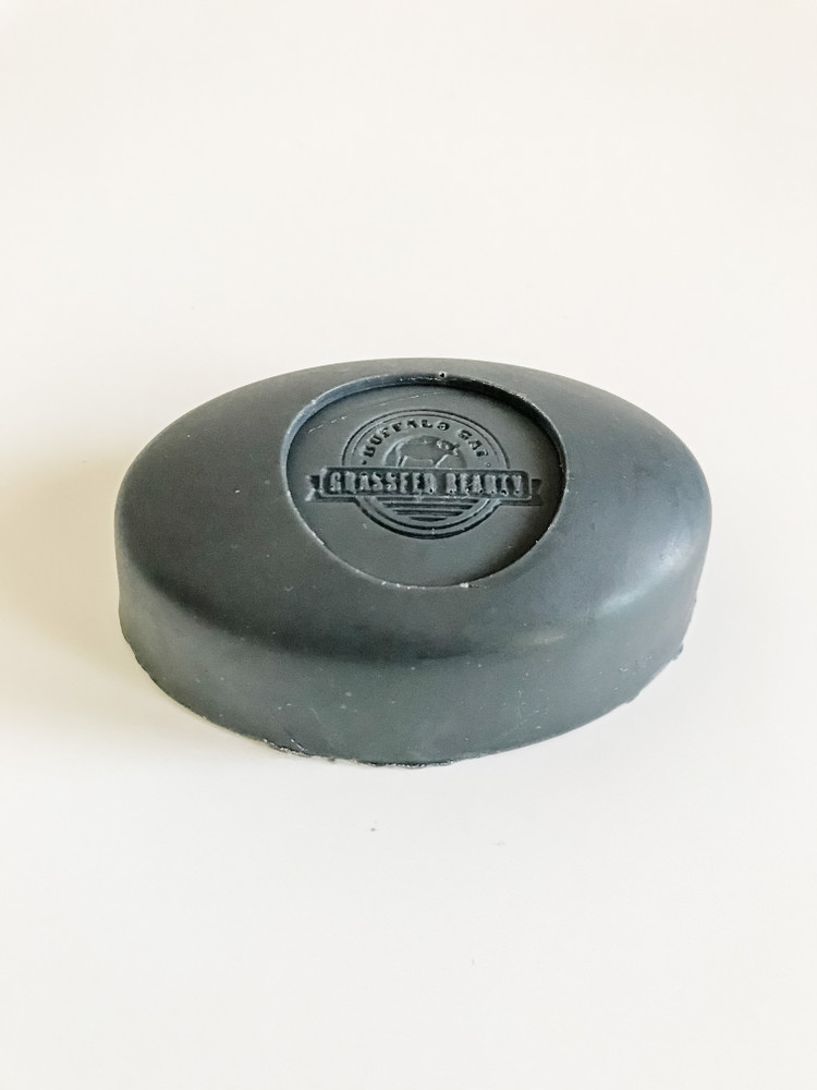 Charcoal & Green Clay Tallow Soap (~ 5 oz)