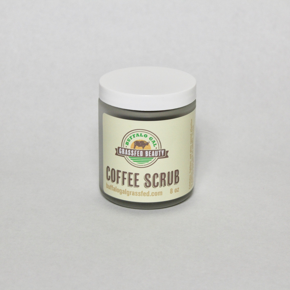 COFFEE SCRUB (8 oz) - NEW!