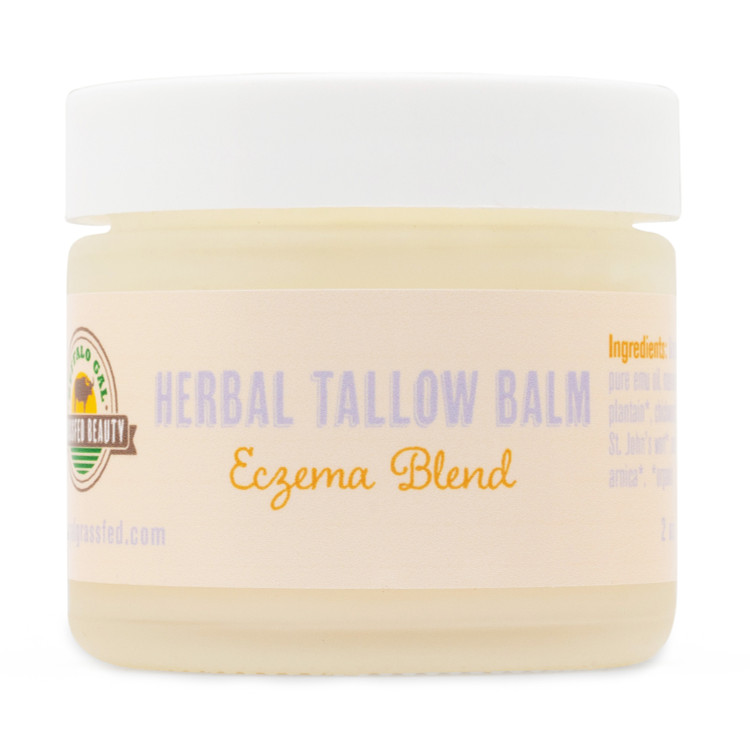HERBAL TALLOW BALM - Eczema Blend (2 oz)