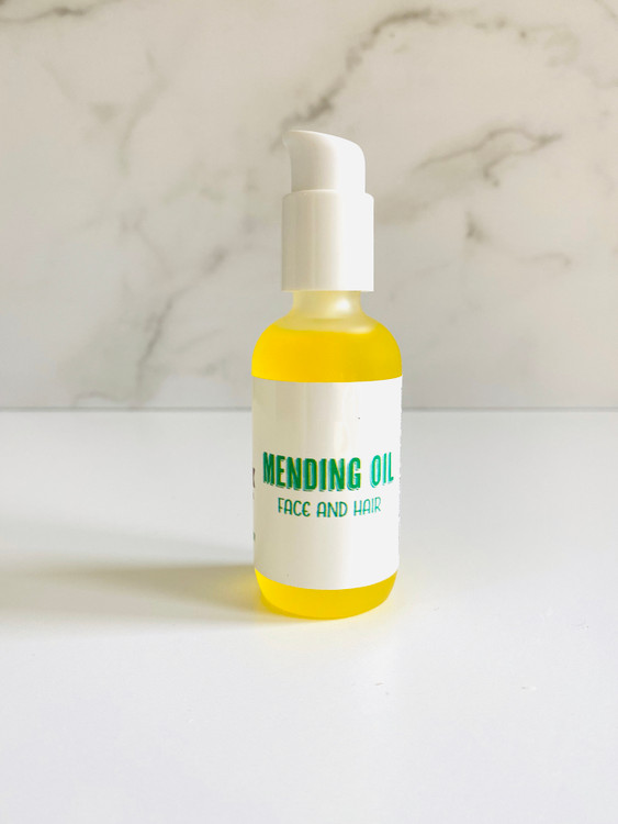 MENDING OIL - For Face and Hair (2 oz)
