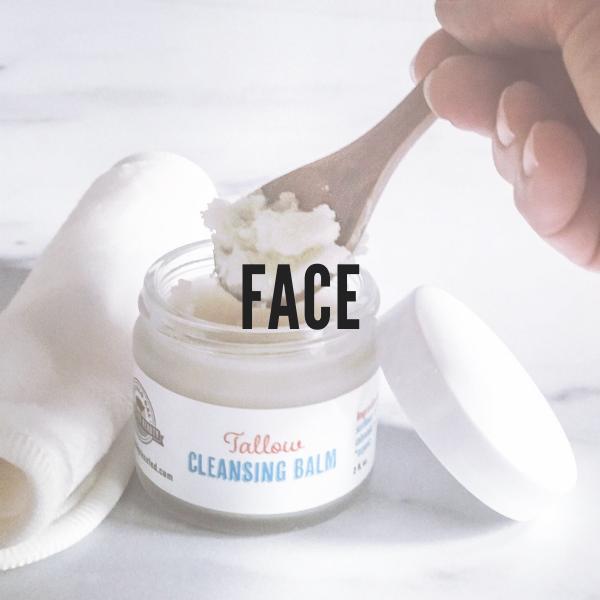 Natural Tallow Face Care